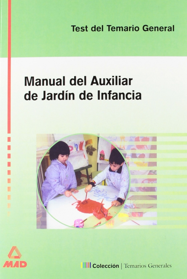 manual del auxiliar de jard n de infancia test del