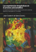 Las experiencias terapéuticas en el proceso psicoanalítico. Un estudio del cambio psíquico desde la teoría de los sistemas dinámicos, intersubjetivos y no lineales