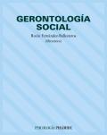 Gerontología social.