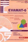 EVAMAT - 6. Evaluación de la Competencia Matemática. (1 cuadernillo y corrección)