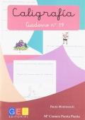 Caligrafía. Cuaderno 19. Pauta Montessori