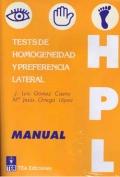 HPL, tests de Homogeneidad y Preferencia Lateral (Juego completo)
