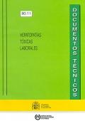 Hepatopatías tóxicas laborales. Documentos técnicos.