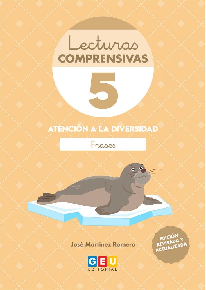 Lecturas Comprensivas 5 Atención A La Diversidad Leo Frases José Martínez Romero
