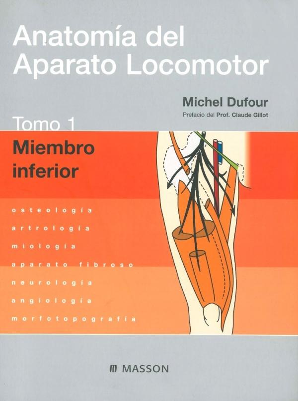 ANATOMíA DEL APARATO LOCOMOTOR. TOMO 1. MIEMBRO INFERIOR OSTEOLOGíA ...