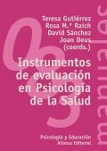 Instrumentos de evaluación en Psicologia de la Salud.