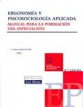 Ergonomía y psicosociología aplicada. Manual para la formación del especialista.