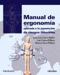 Manual de ergonomía aplicada a la prevención de riesgos laborales.